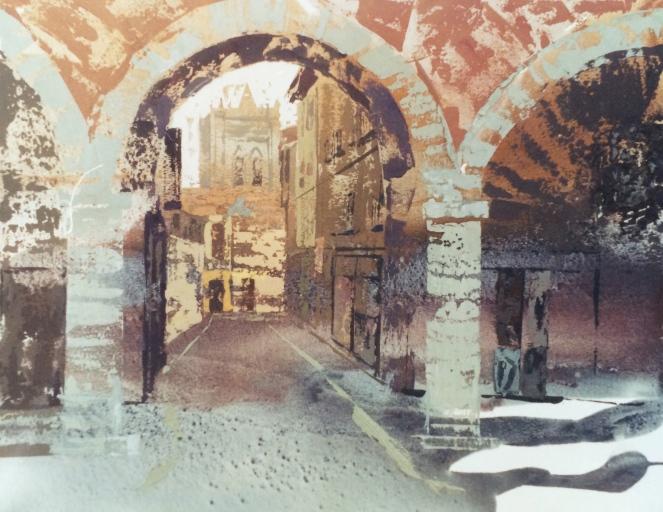 1º premio certamen pintura rápida ciudad de Avila