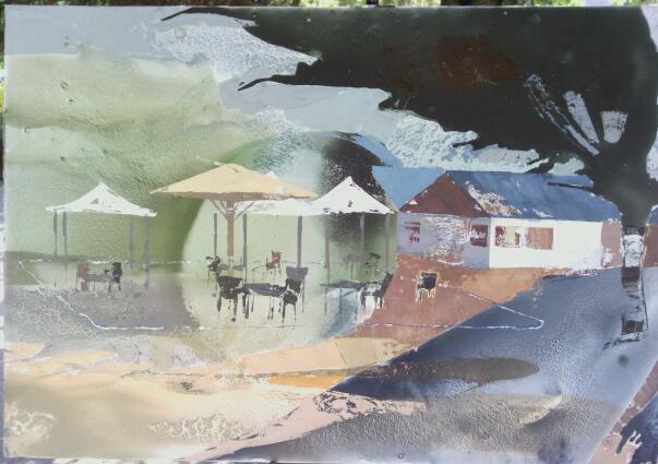 Mención de honor certamen de pintura al aire libre Rafael Botí 2013